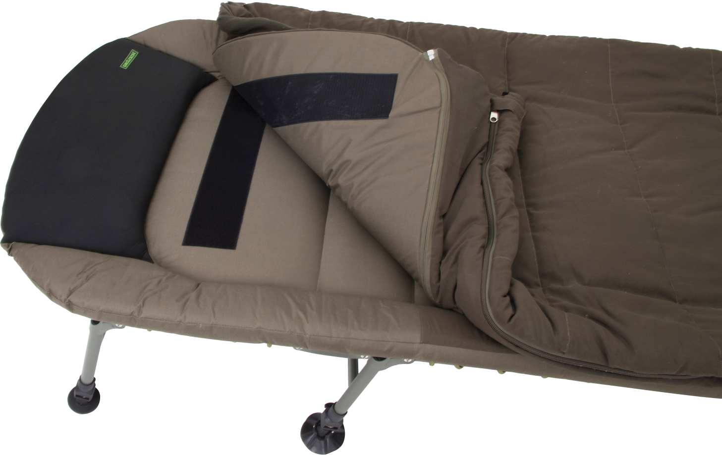 Marvelous Pelzer Compact Bed Chair Flat With Sleeping Bag Ncnpc Chair Design For Home Ncnpcorg