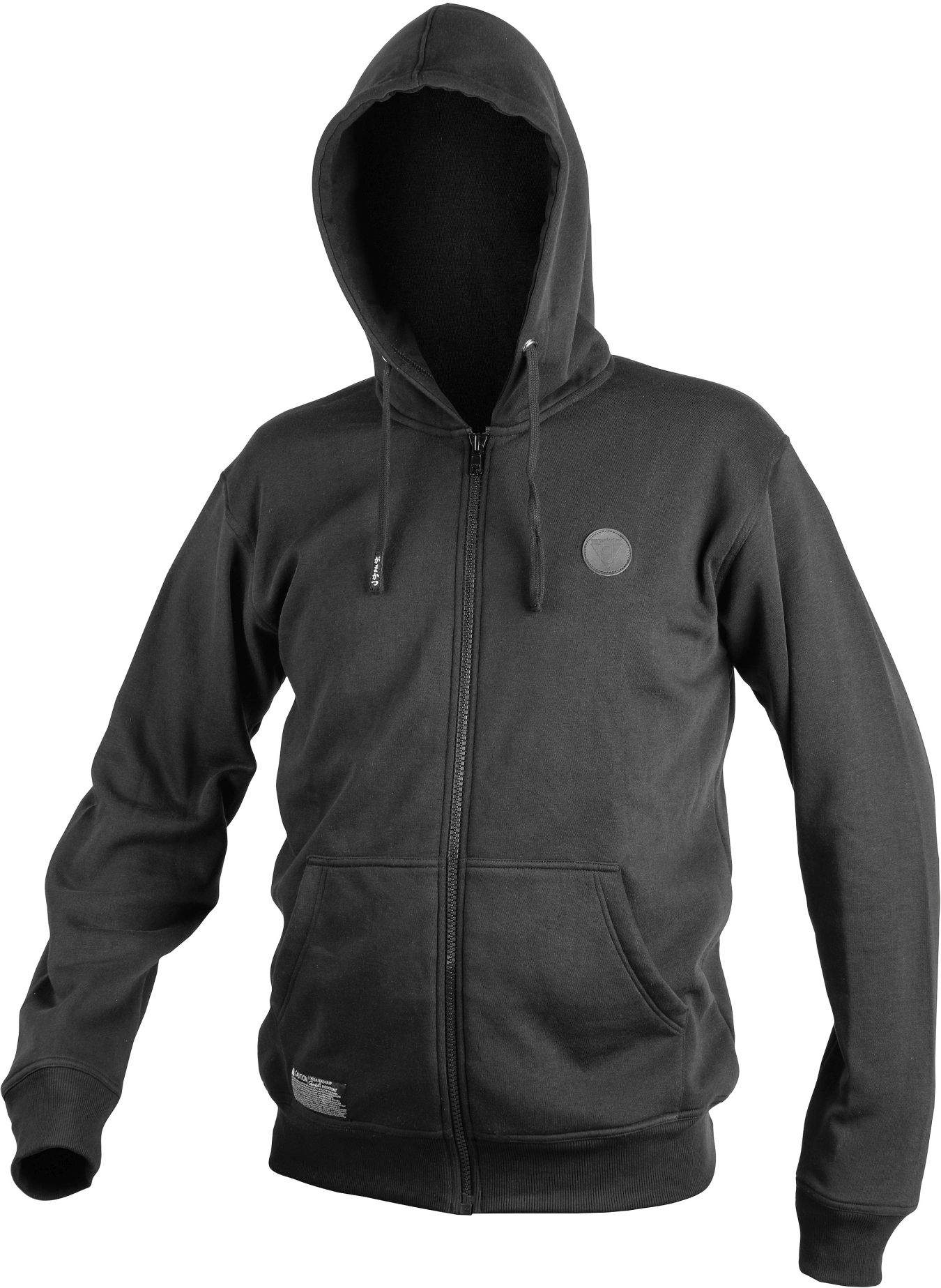 Bekleidung Hoody Gamakatsu All Black XXXL Kapuzenpulli Hemden & T-Shirts