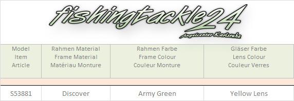 Bekleidung Lenz Rogue Discover Sunglass Army Green with Bronze Mirror Lens Kopfbekleidung