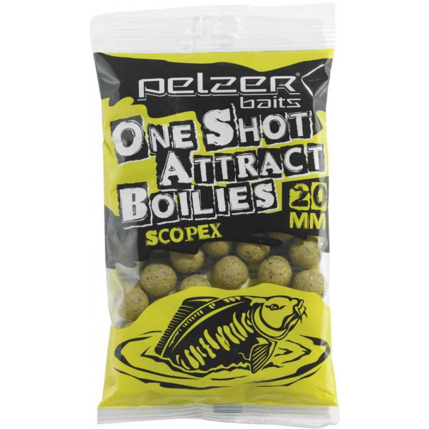Pelzer One Shot Attract Boilies 250g
