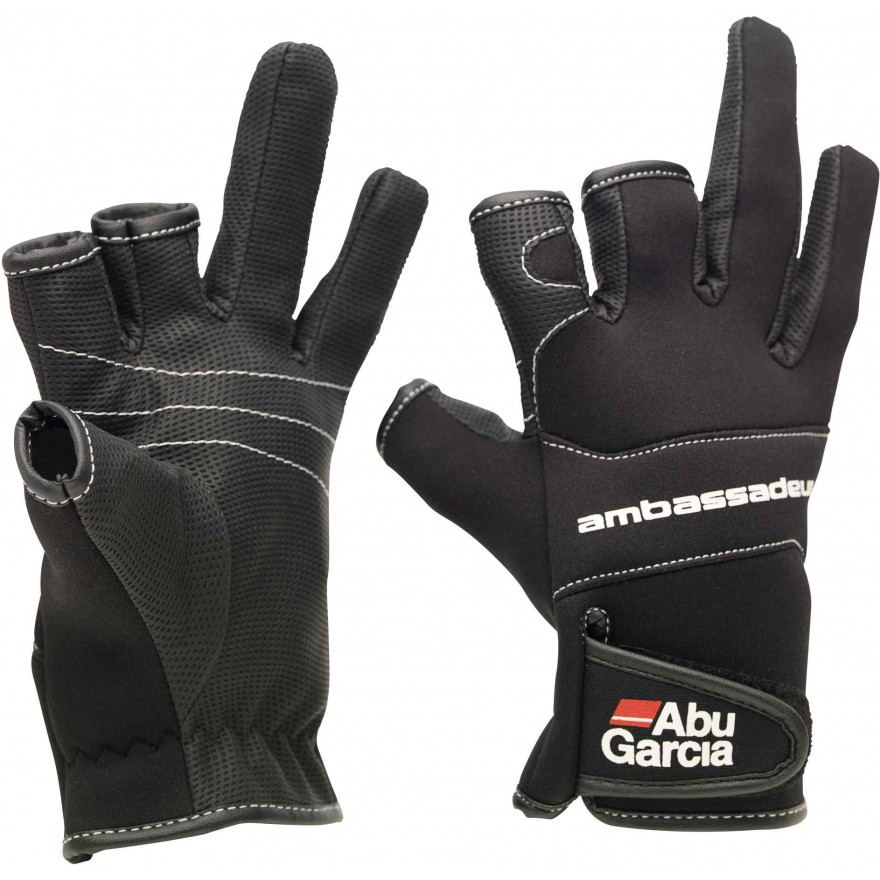 Abu Garcia Stretchable Neoprene Gloves