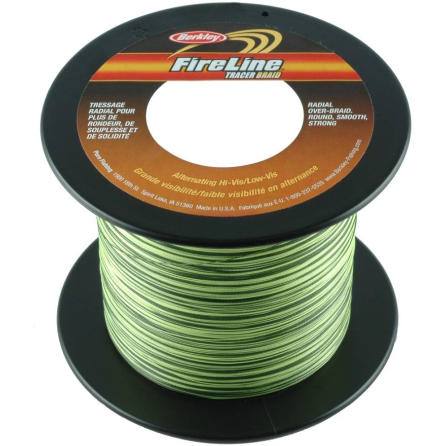 Berkley Fireline - Tracer Green/Smoke - 1800m
