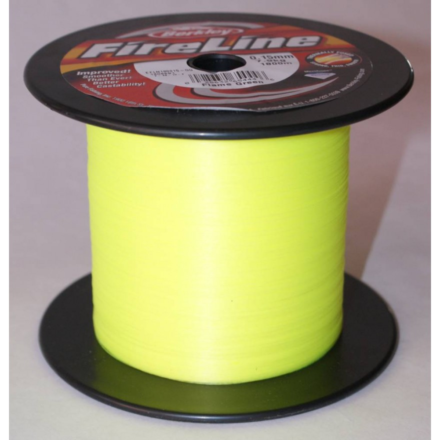 Berkley Fireline - Flame Green 1800m