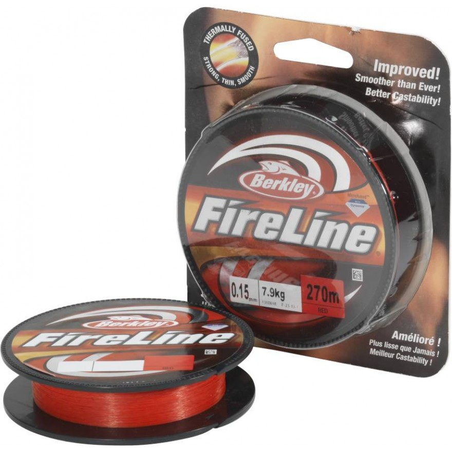 Berkley Fireline - Red 110m