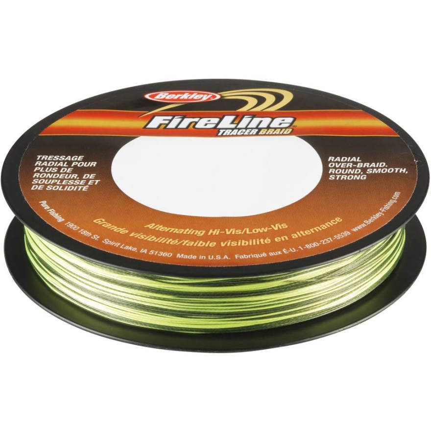Berkley Fireline - Tracer Green/Smoke - 270m