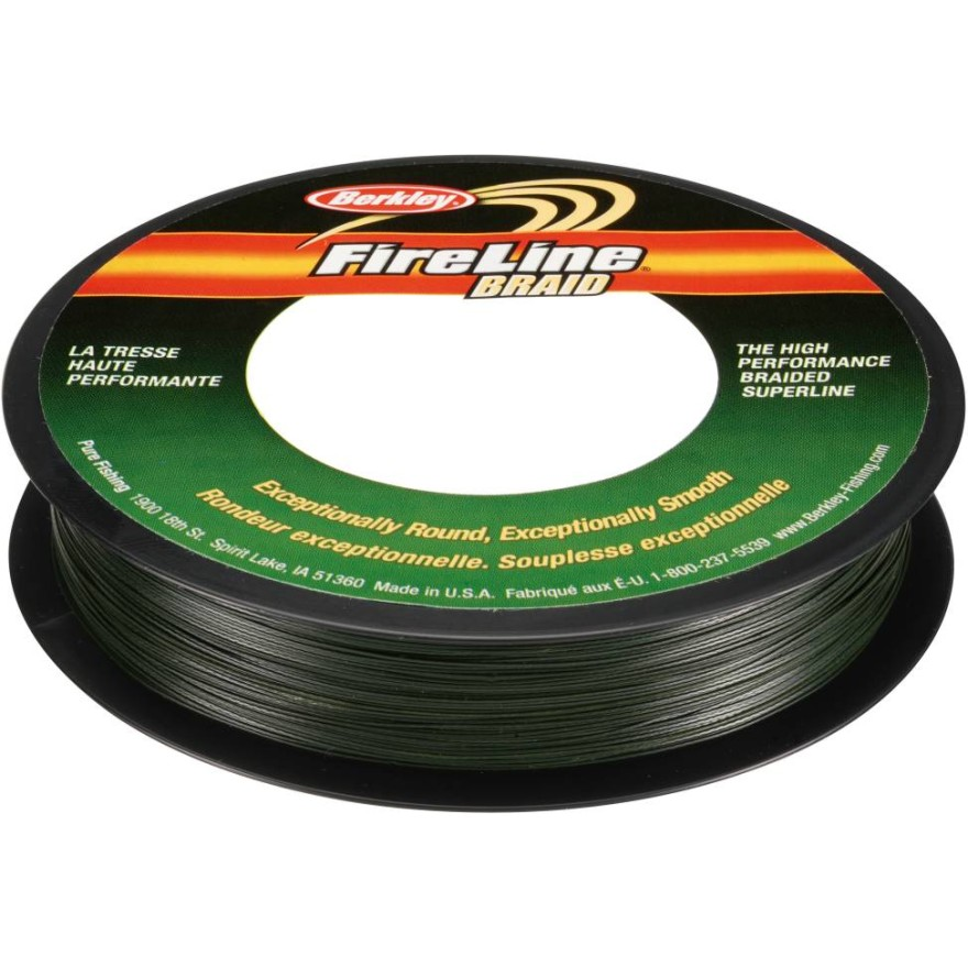 Berkley Fireline - Braid Green 110m
