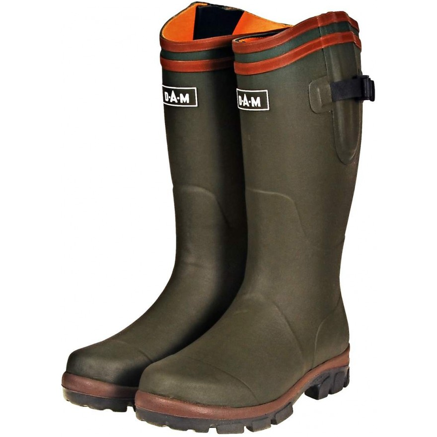 DAM Flex Rubber Boots Cotton