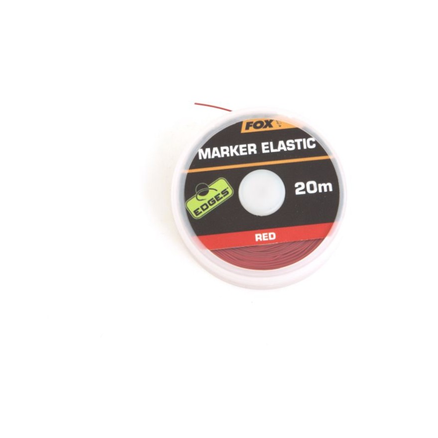 FOX Edges Marker Elastic, 20m, red