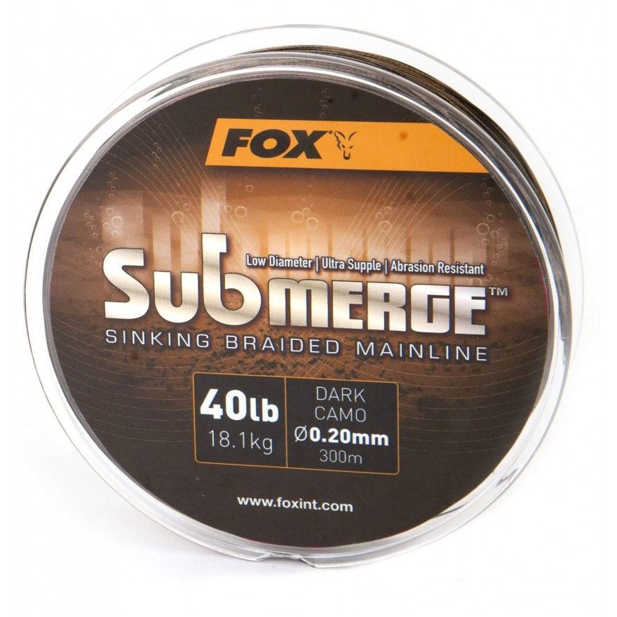FOX Submerge Sinking Braided Mainline 600m