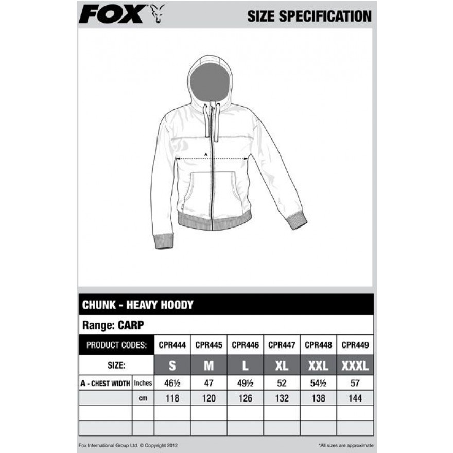 FOX Chunk Heavy Hoody - Black Marl