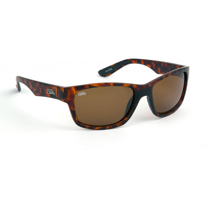 Fox Chunk Tortoise Frame/Brown Lens Sunglasses