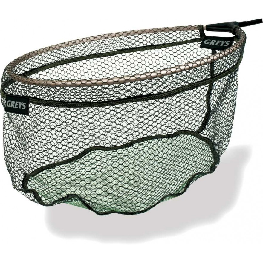 Greys Rubber Dual Mesh Match Landing Net