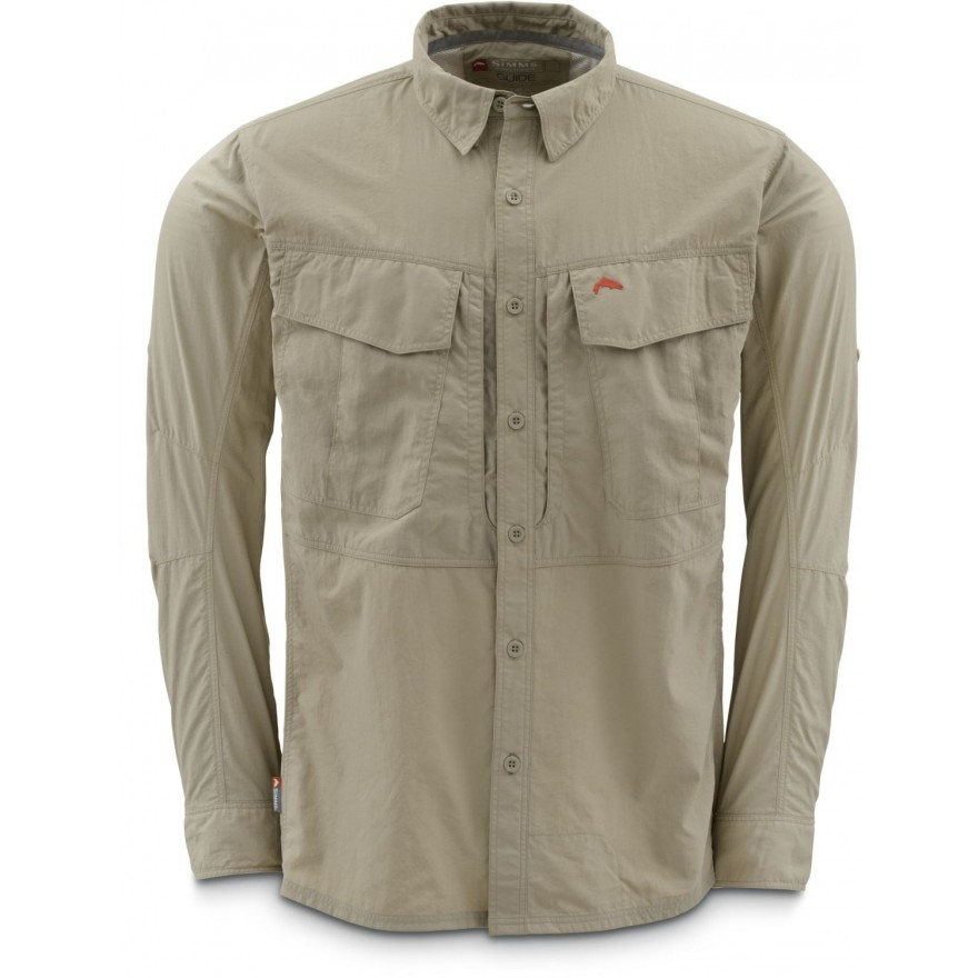 Simms Guide Shirt Cork