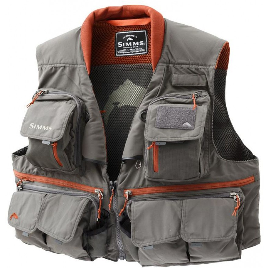 Simms Guide Vest Greystone