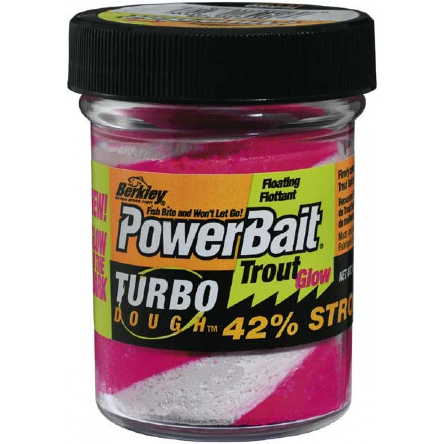 BERKLEY Powerbait Glow in the Dark TroutBait, 50g