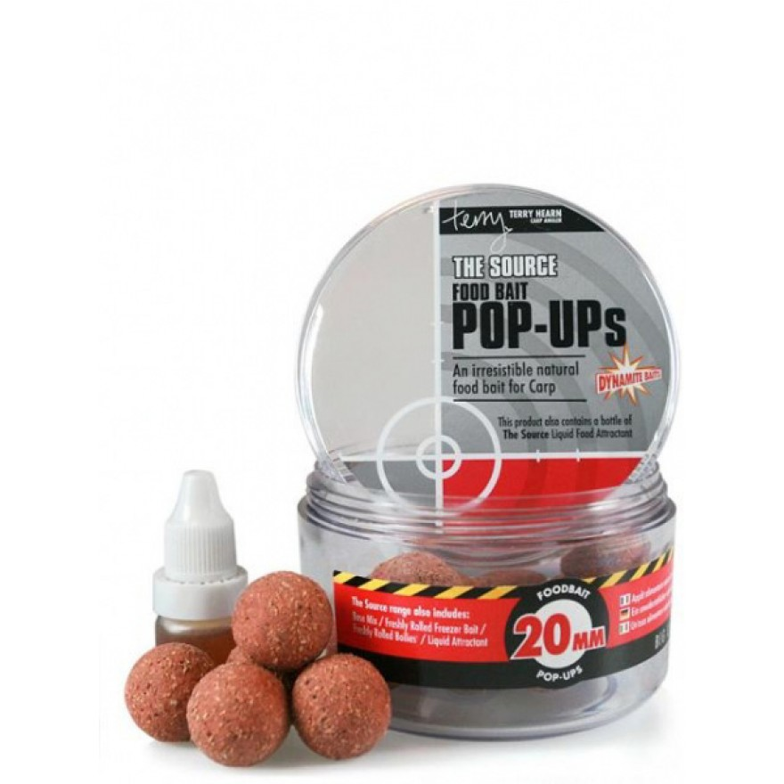 Dynamite Baits Pop Up Boilies 100g, The Source