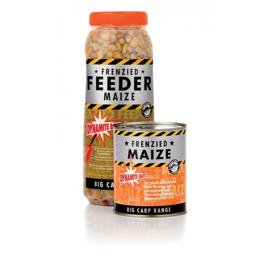 Dynamite Baits Particles Frenzied Maize 600g