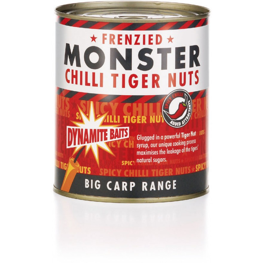 Dynamite Baits Particles Frenzied Chilli Tiger Nuts 830g