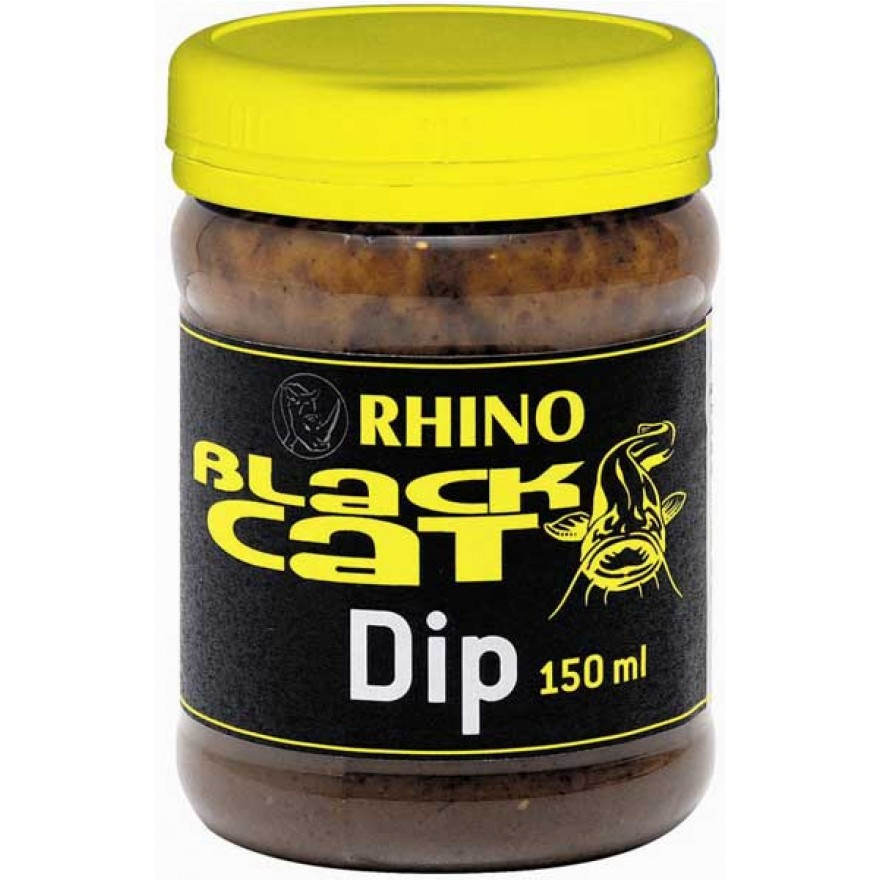 Rhino Black Cat Dip 150ml, black/red