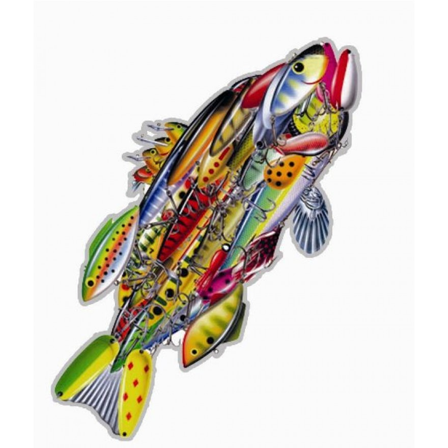Car Magnet - Lure of Fish
