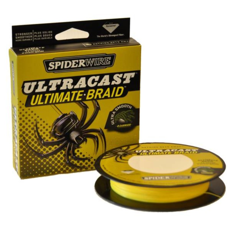 SPIDERWIRE Ultracast 8 Carrier 1800m, yellow
