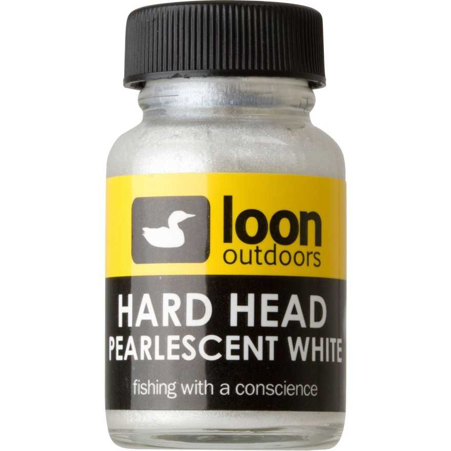 Loon Hard Head White Pearlescent