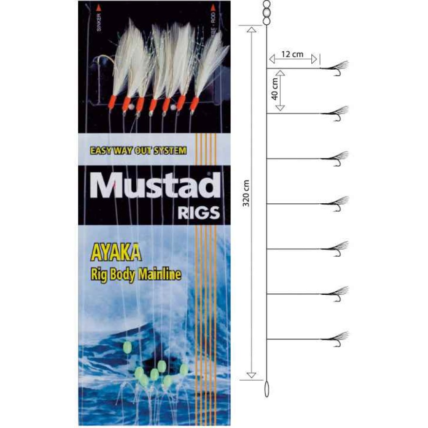 Mustad Feather Rig 6