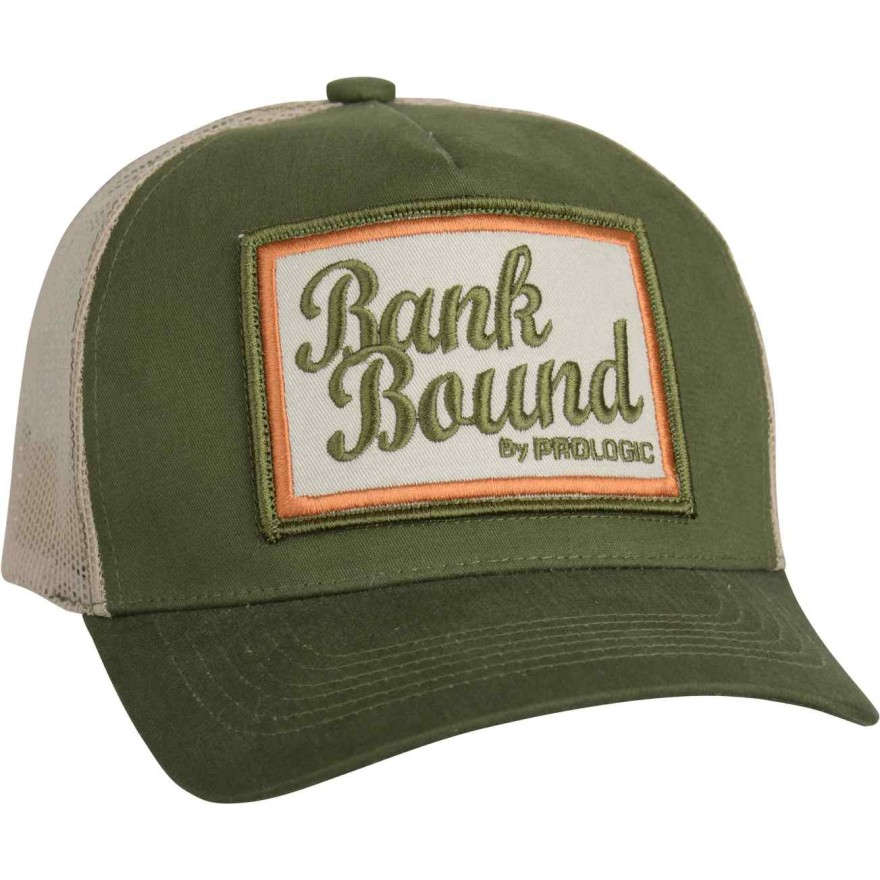 Prologic Bank Bound Mesh Cap Green/Beige One Size