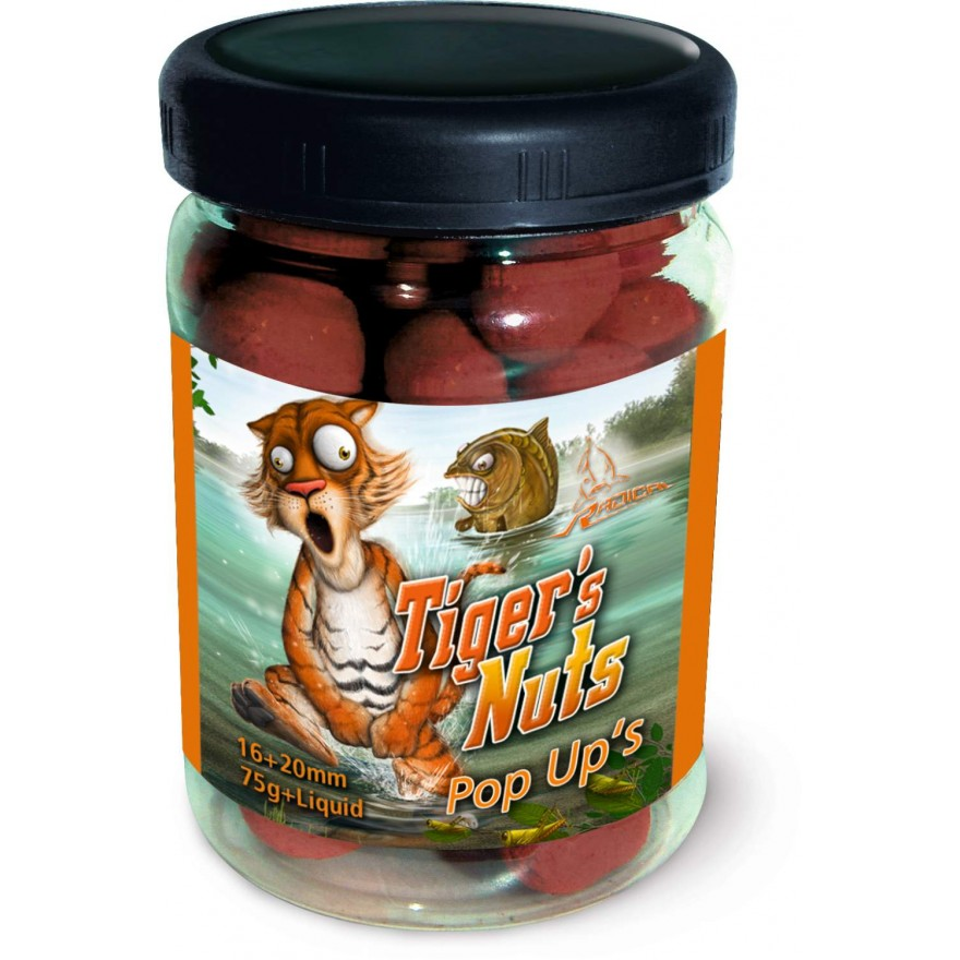 QUANTUM Radical Tiger's Nuts Pop Up?s 75g, 16mm