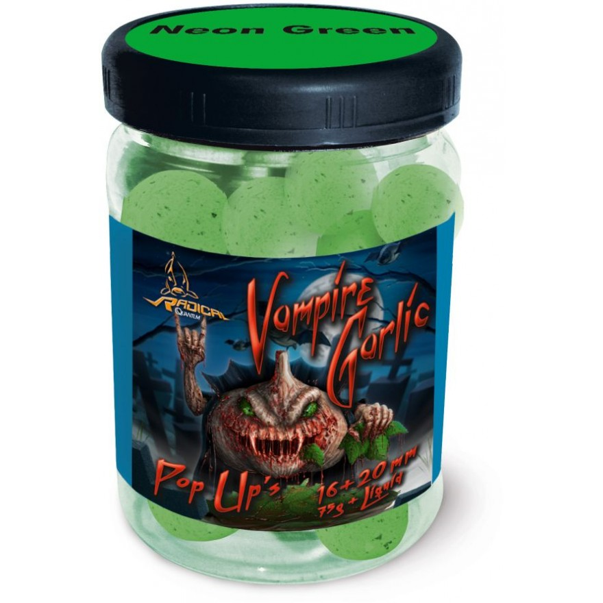 QUANTUM Vampire Garlic Neon Pop Up 75g, 16 & 20mm