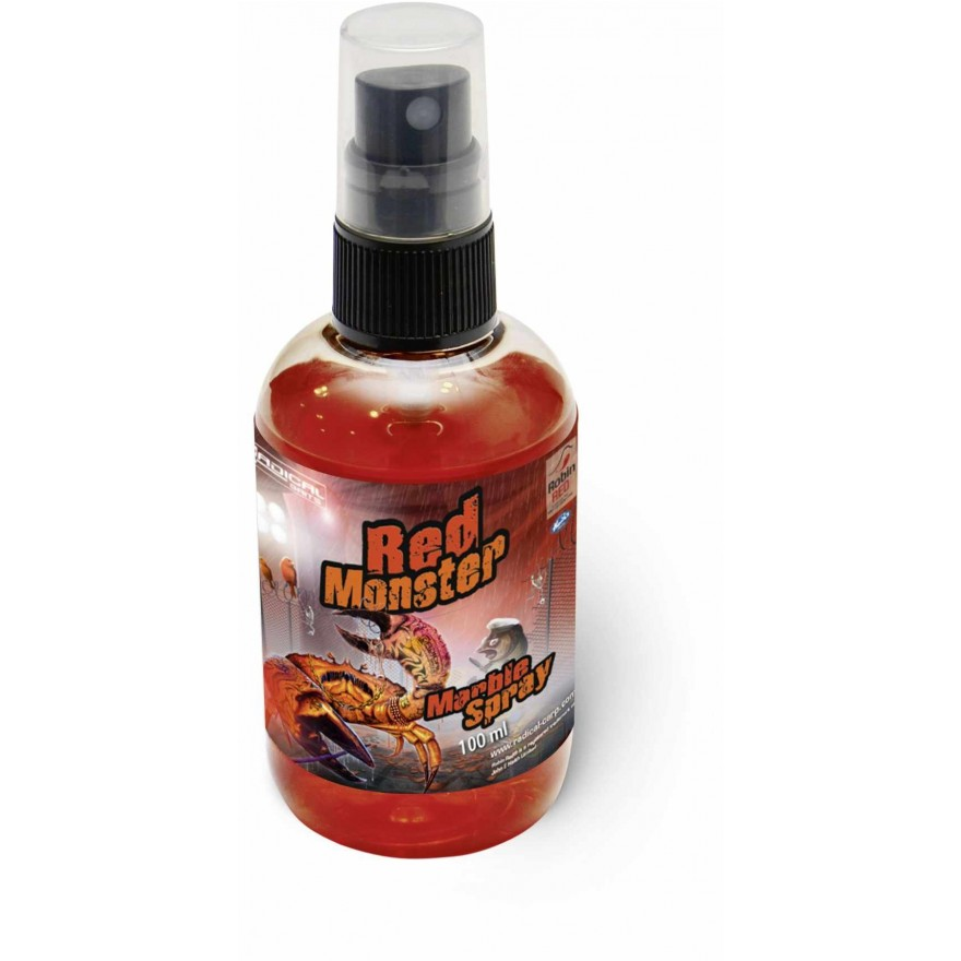 Quantum Radical Baits Marble Spray Red Monster 100ml