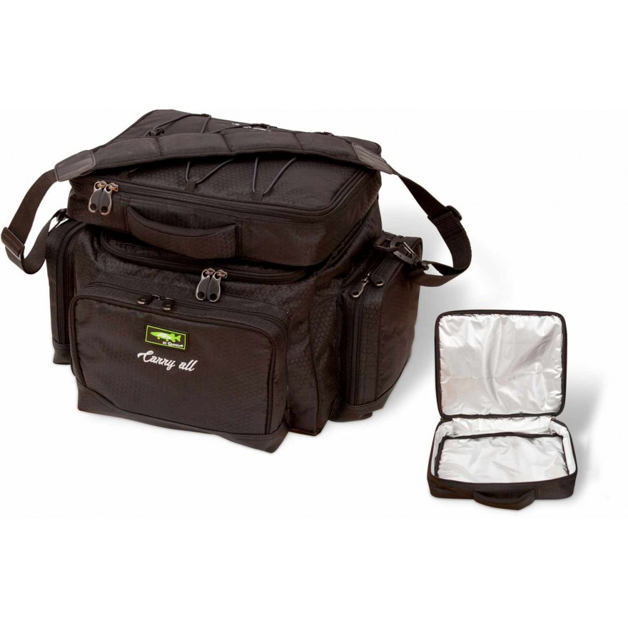 Quantum Mr. Pike Carryall + Freezer Bag schwarz