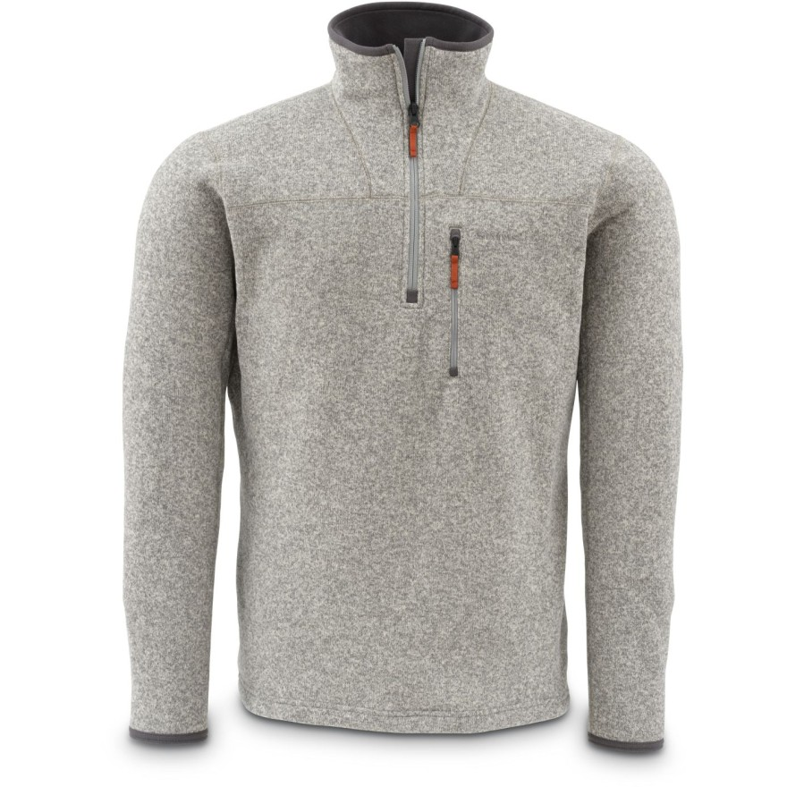 Simms Rivershed Sweater Cork