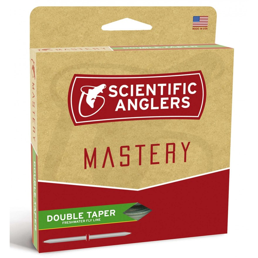 Scientific Anglers - Mastery Double Taper Dark Willow DT-F