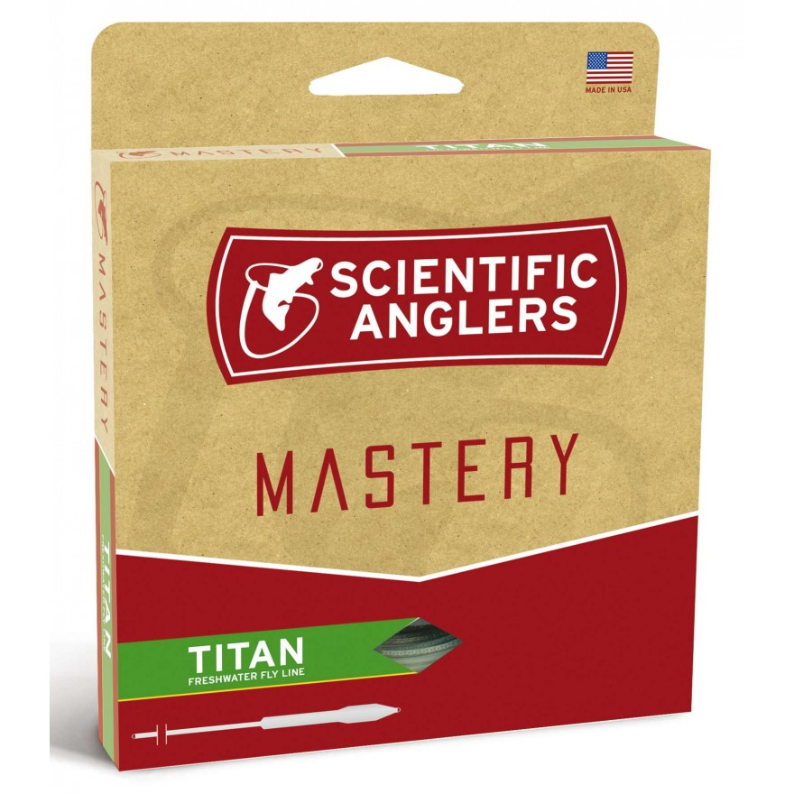 Scientific Anglers - Mastery Titan Blue/Green WF-F