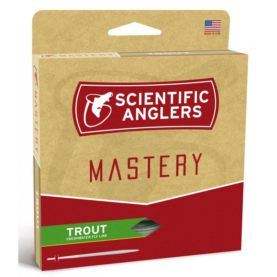 Scientific Anglers - Mastery Trout Green/Optic Green WF-F