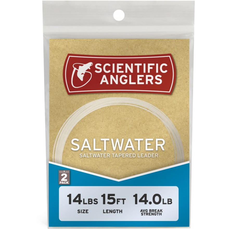 Scientific Anglers - Saltwater Leader 9' - 2-pack