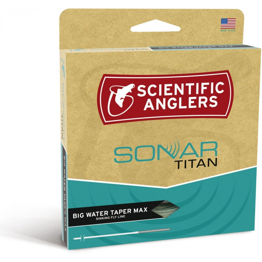 Scientific Anglers - Sonar Titan Big Water Sink 6+ Surf/Blk