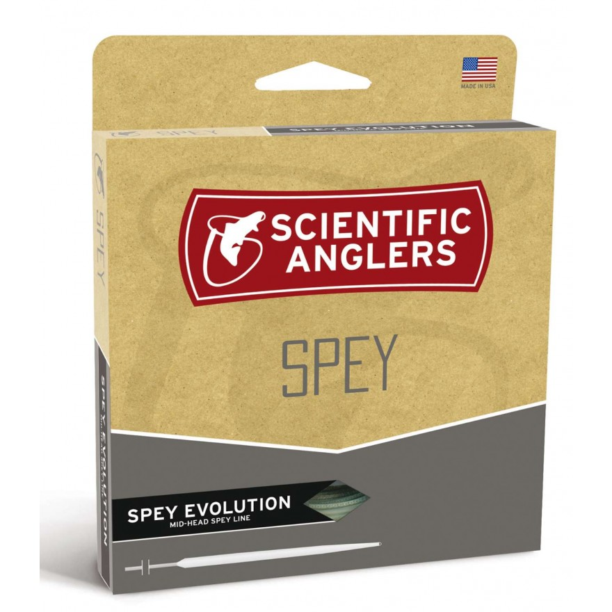 Scientific Anglers - Spey Evolution Sunset Orange/Lt.Blue