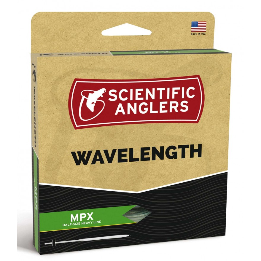 Scientific Anglers - Wavelenght MPX Amber/Optic Green WF-F
