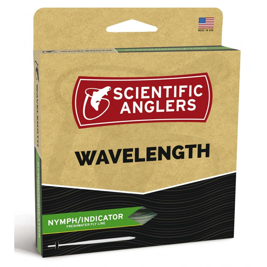 Scientific Anglers - Wavelenght Nymph Willow/Orange Tip WF-F