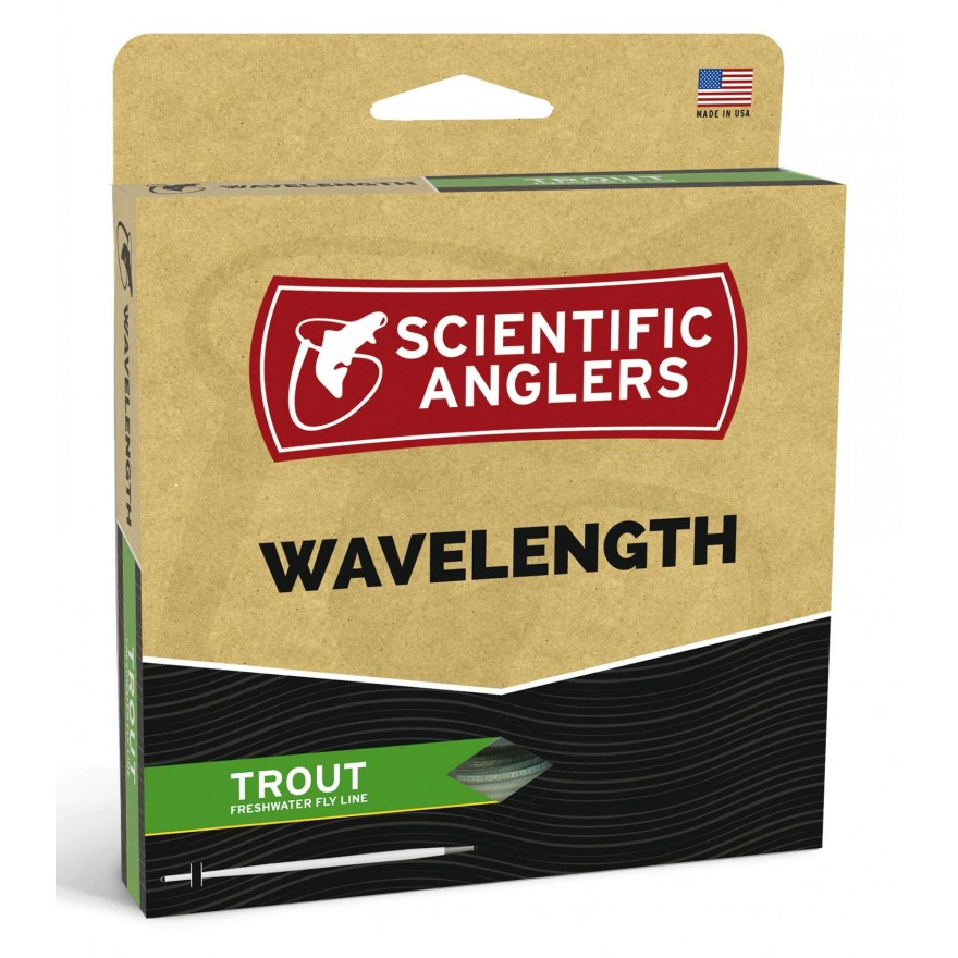 Scientific Anglers - Wavelenght Trout Willow/Dk.Willow WF-F