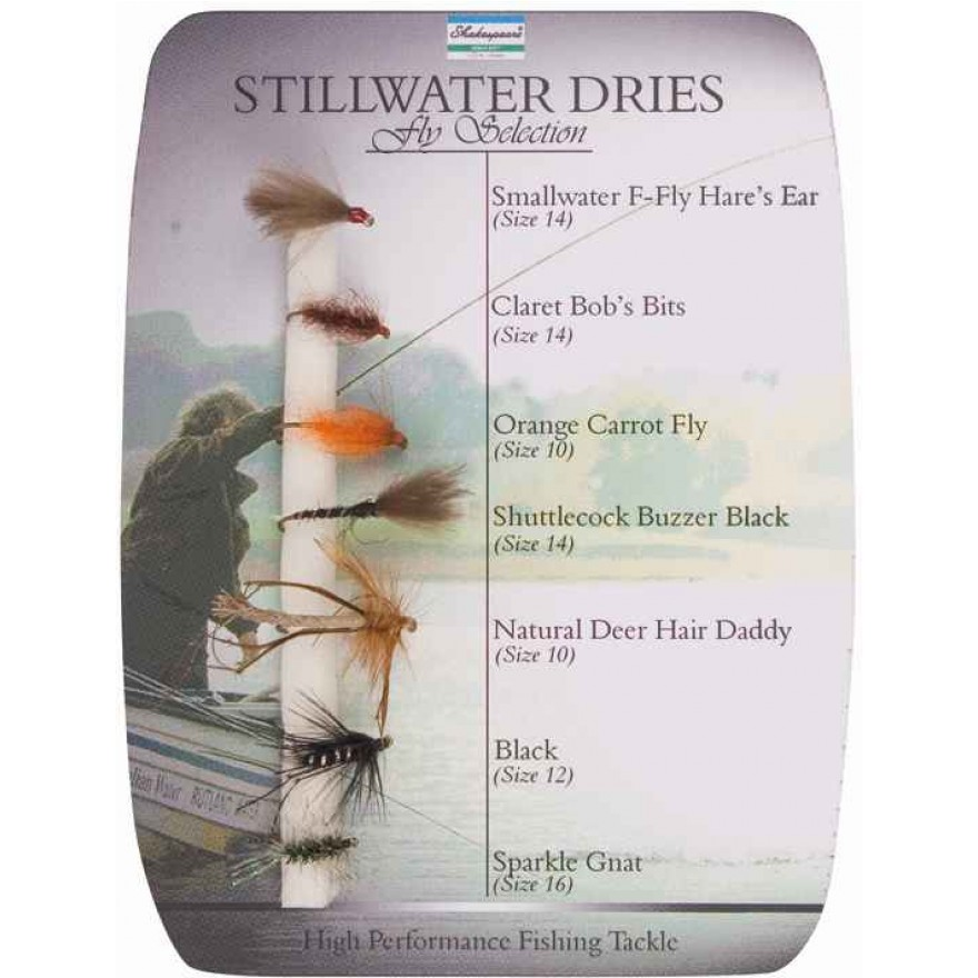 Shakespeare Fly Selection No1 Stillwater Dries