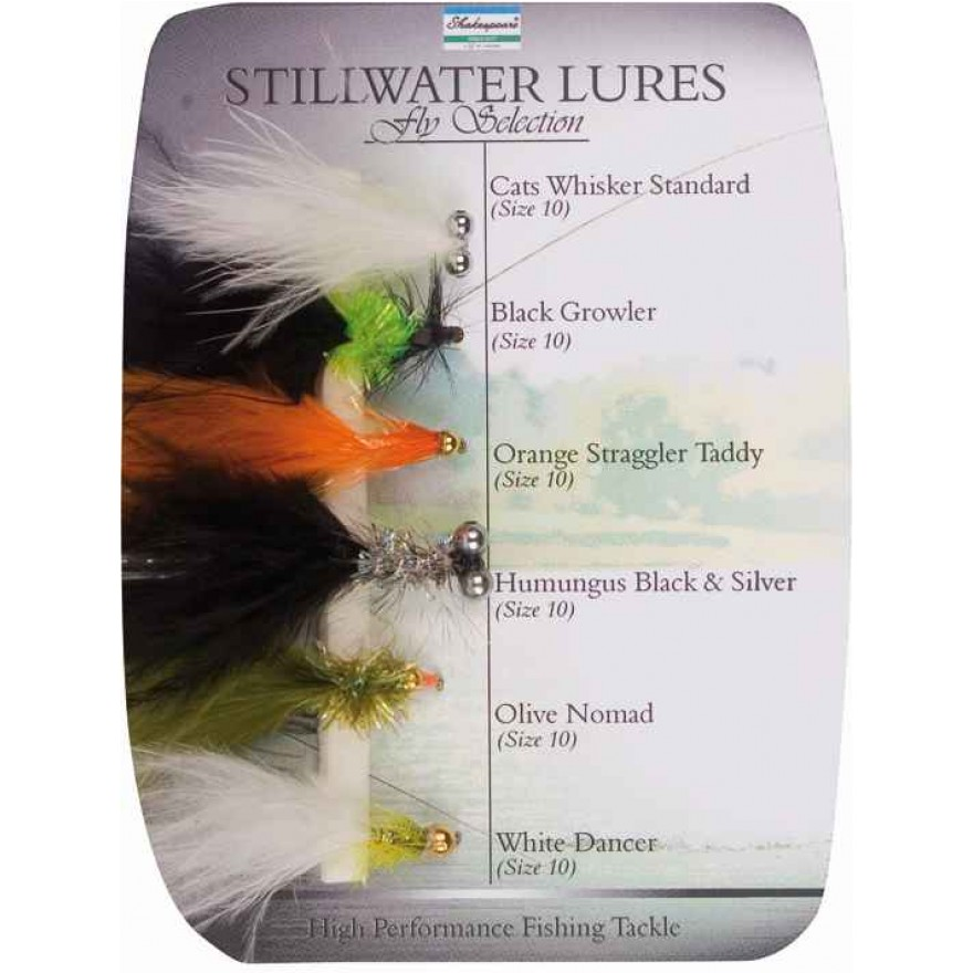 Shakespeare Fly Selection No5 Stillwater Lures