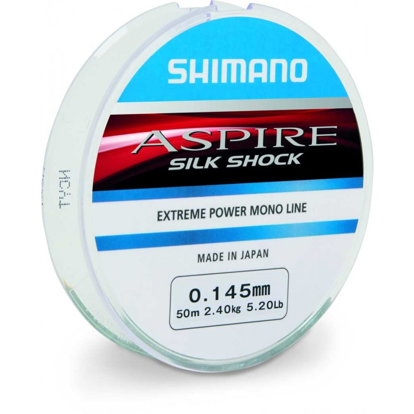 0.165mm Shimano Aspire Silk Shock Rig Line 50m All Sizes-