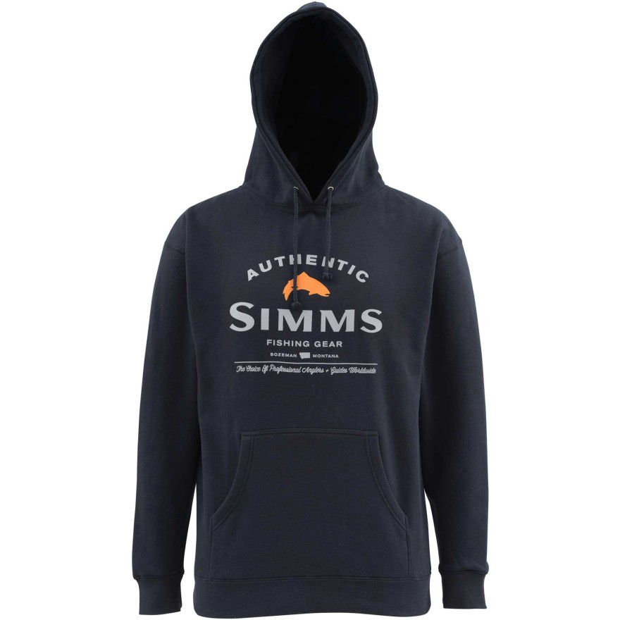 Simms Badge of Authenticity Hoody Midnight