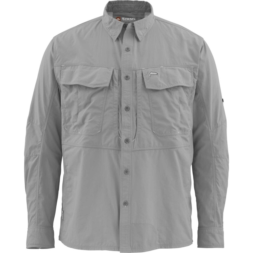 Simms Guide Shirt Concrete