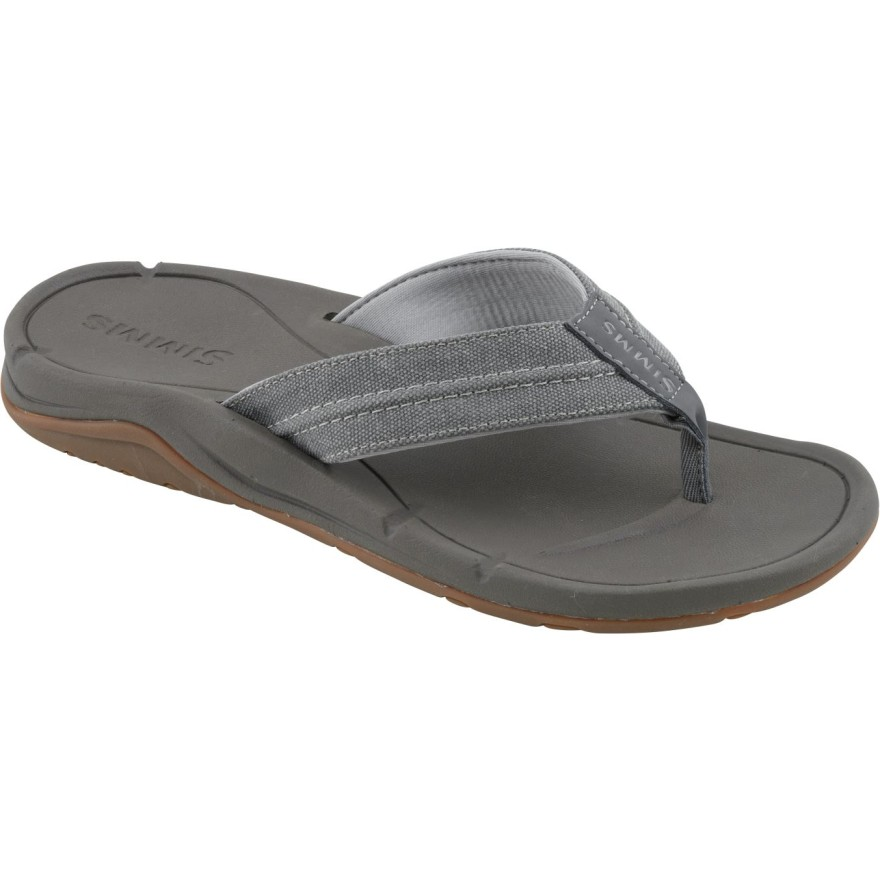 Simms Westshore Slip On Shoe Charcoal