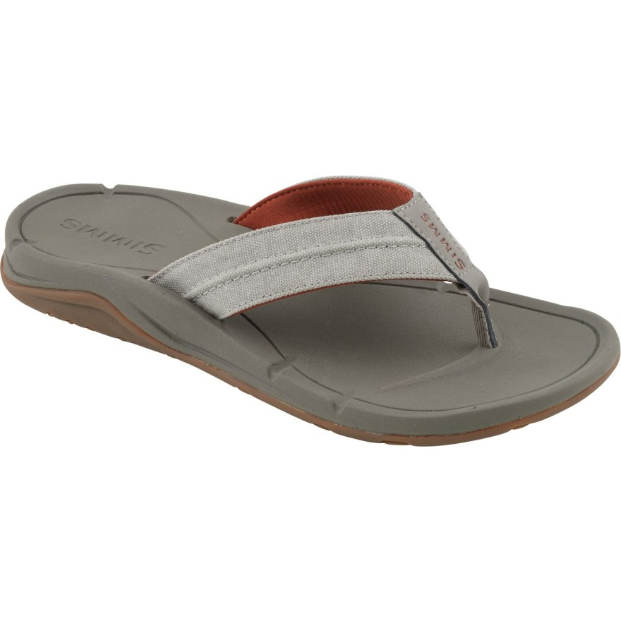 Simms Westshore Slip On Shoe River Rock