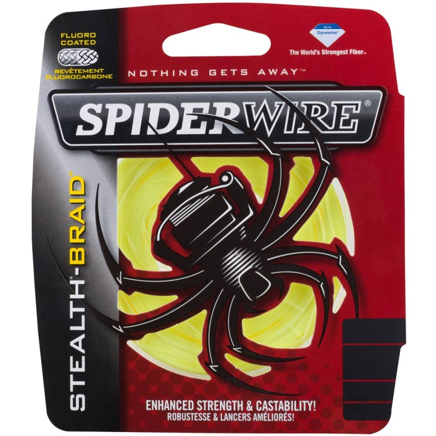 Spiderwire Stealth - Yellow 135m
